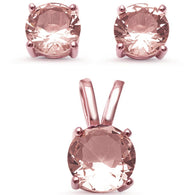 Round Morganite Solitaire