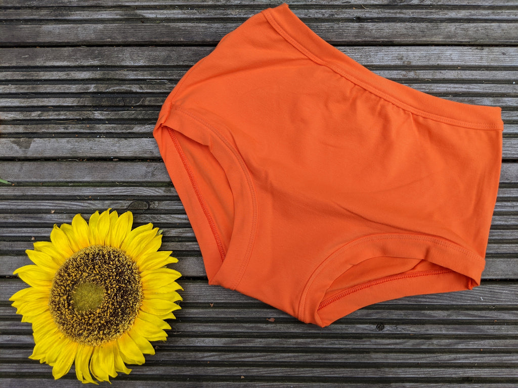 Womens Original Plain Tangerine