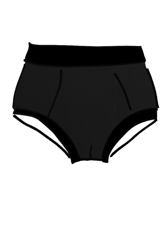 Mens Original Brief Black