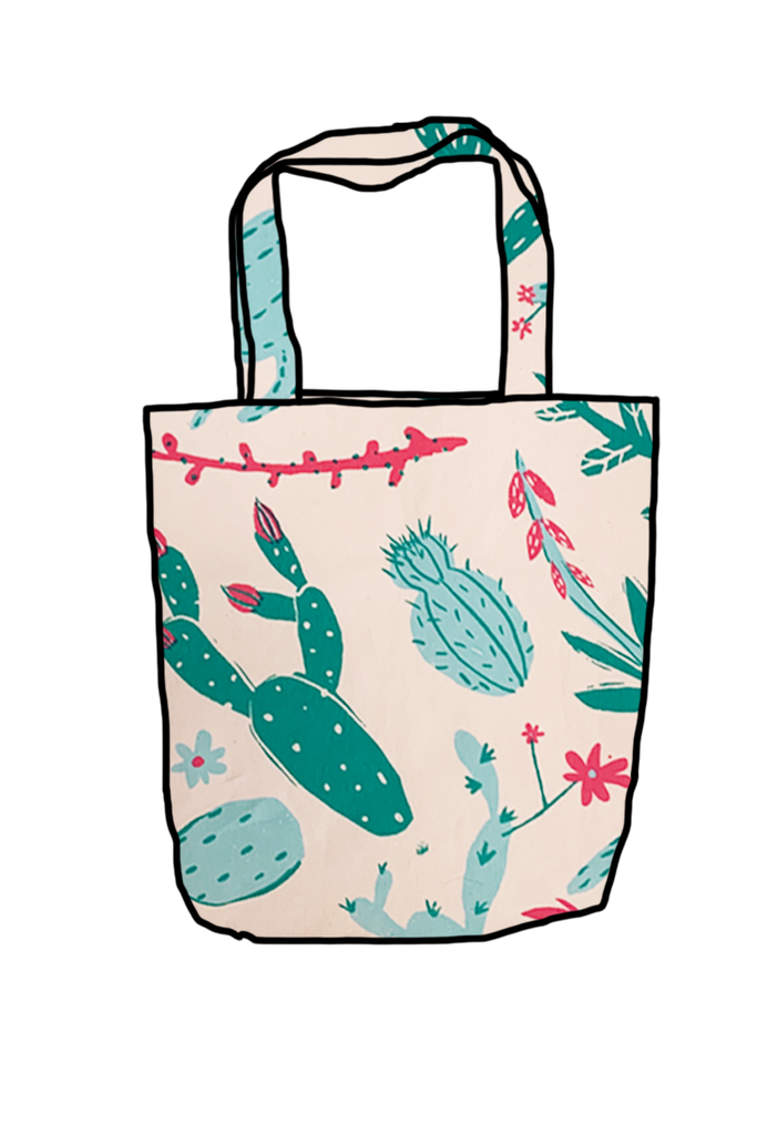 Cactus Reusable Shopping Bag