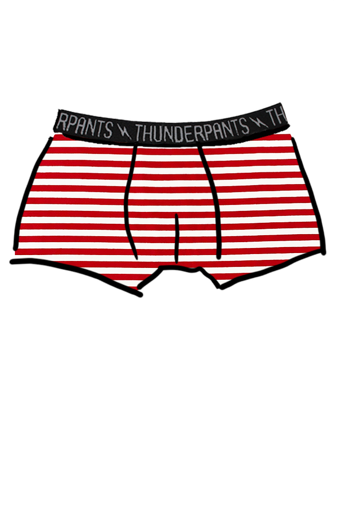 Mens Boxer Candy Canes - Small & Large