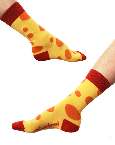 Socks Citrus Spots - Thunderpants UK