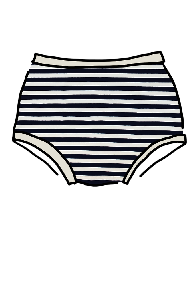 Womens Original Navy Stripe