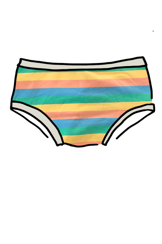 Womens Hipster Pastel Rainbow