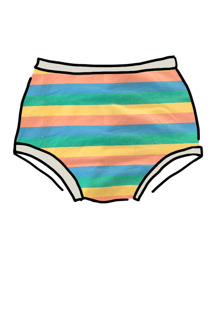 Womens Original Pastel Rainbow