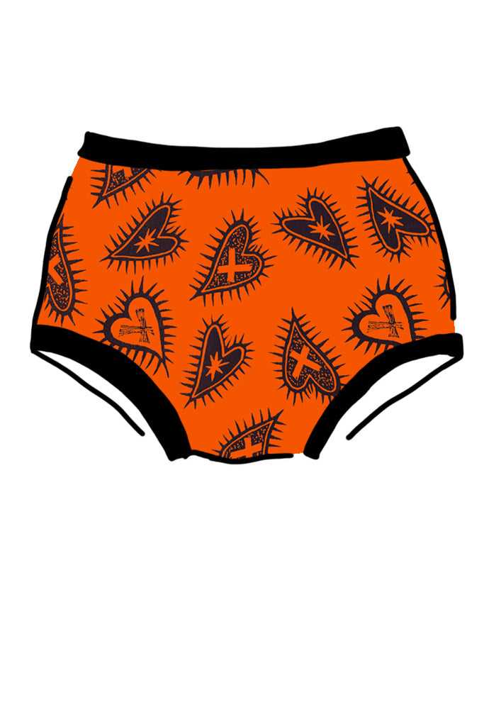 Seconds - Womens Original Tangerine Hearts