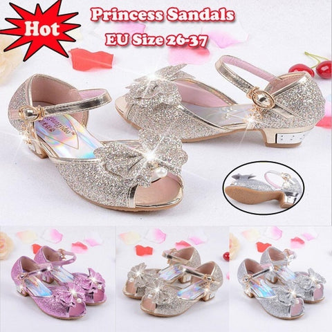 Flower girl dresses and accessories tagged wedding shoes 2018 princess shoes kids girls wedding shoes high heels dress shoes party shoes for girls leather mightylinksfo