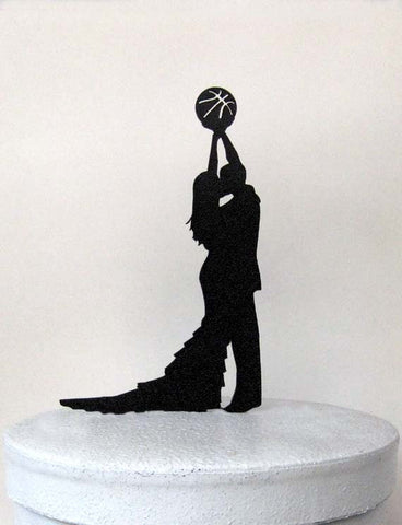 Wedding Cake Topper - Basketball wedding-Varnita Bridal Store