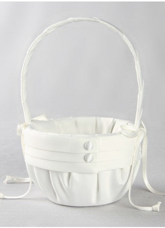 Audrey Flower Girl Basket-Flower Girl Basket-Varnita Bridal Store