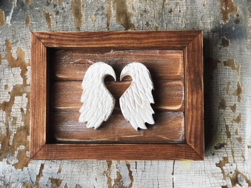 Miniature Wings (Walnut Brown Frame)