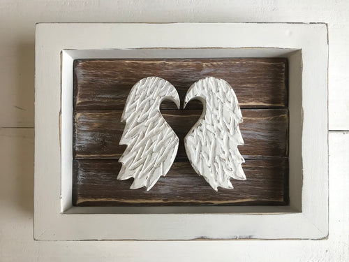 Miniature Wings (White Frame) ** ready to ship**