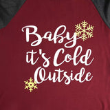 Baby it's Cold Outside Top - flyqueens