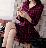 Forever Fly Plaid Dress - flyqueens
