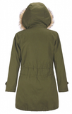 Winter Princess Parka - Green