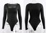 Like Magic Bodysuit - Black