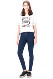 Dream On Jeans - Dark Blue - flyqueens