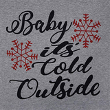 Baby It's Cold Outside Plaid Top - flyqueens