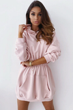 Ariel Sweater Dress - Pink