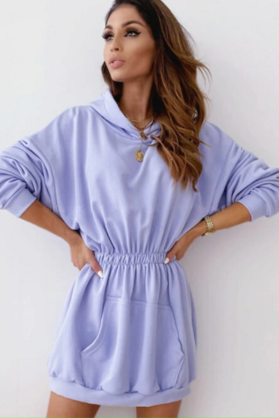 Ariel Sweater Dress - Lilac