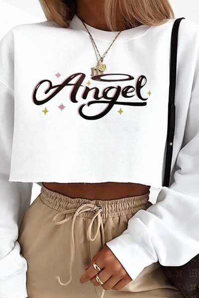 Angel Sweater - White