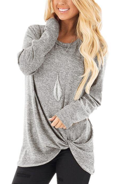 Hype Me Up Sweater - Grey