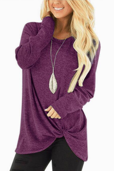 Hype Me Up Sweater - Purple