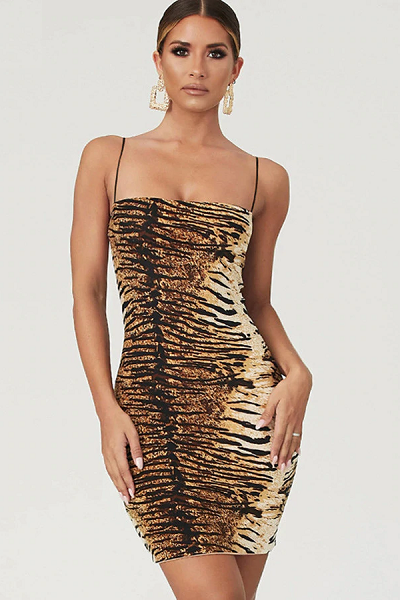 So Exotic Dress - Tiger
