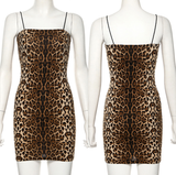 So Exotic Dress - Leopard