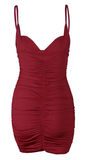 VIP Honey Dress - Burgundy