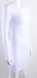 Flaunt It Dress - White