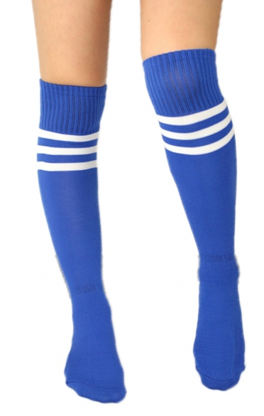 Knee-High-Honey Socks - Blue - flyqueens