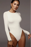 Gifted Goddess Bodysuit - White - flyqueens