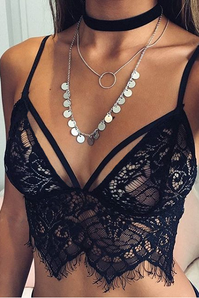 Call Me Late Night Bralette