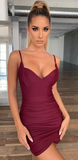 Play for Keeps Dress - Burgundy - flyqueens