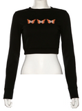 Butterfly Cutie Crop Top