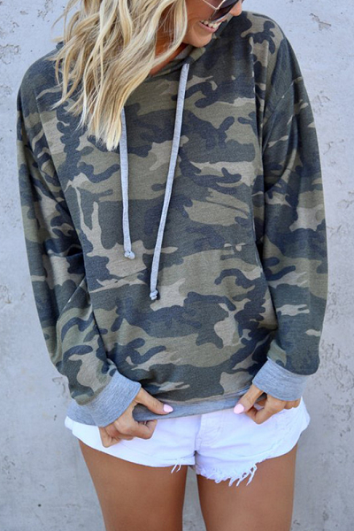 Camo Queen Sweater