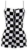 Meet Me At The Finish Line Romper - flyqueens