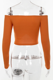 Feelin Like a Milli Crop Top - Orange - flyqueens