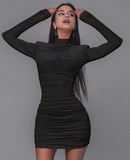 Crush On You Dress - Black