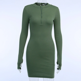 Gonna Love Me Dress - Olive
