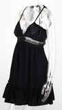 Forever & Always Backless Dress - Black