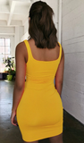 Lina Dress - Yellow