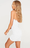 Finesse On Em Dress - White