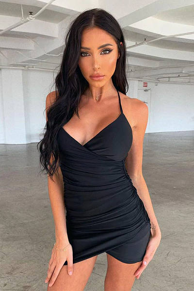 Finesse On Em Dress - Black