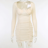 Ain't Your Chick Dress - Cream