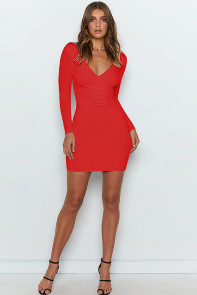 Play to Win Dress - Red