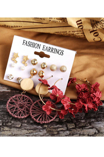Boho Barbie Earrings Set