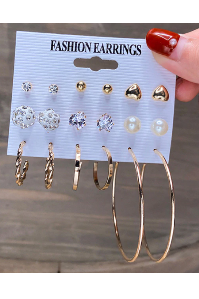 Pretty Bae Earrings Set