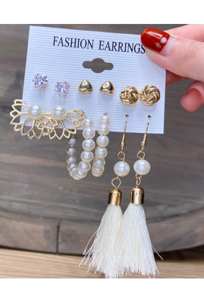 Keep Dancing Earrings Set