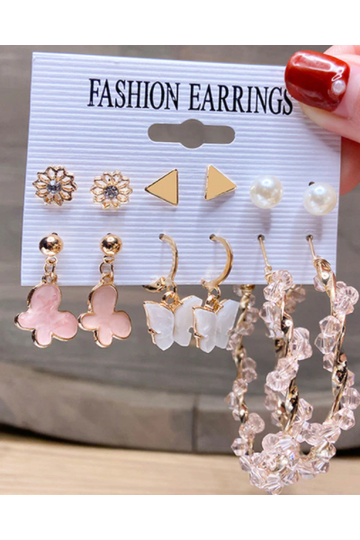 Butterfly Babe Earrings Set